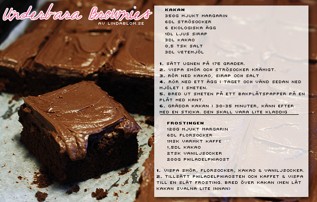 brownie recept leila