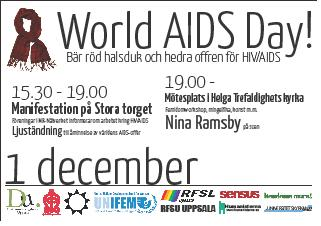 world aids day-annons
