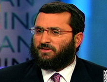 Rabbi Shmuley Boteach, CNN