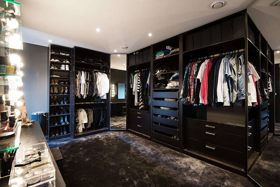 My walk-in-closet