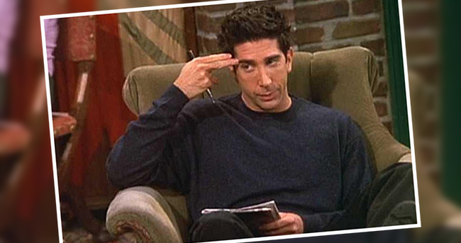 ross friends unagi vänner david schwimmer