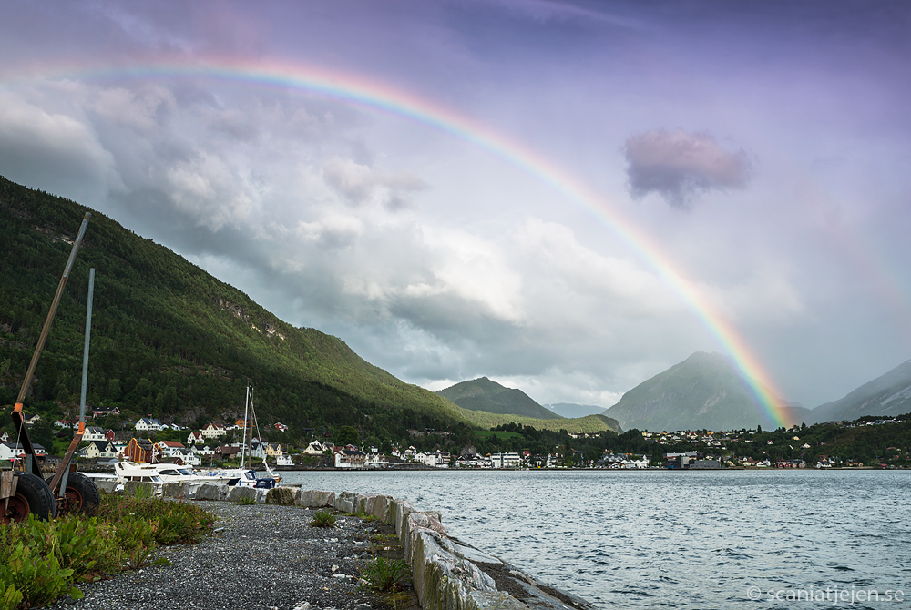 rainbow sandane norway