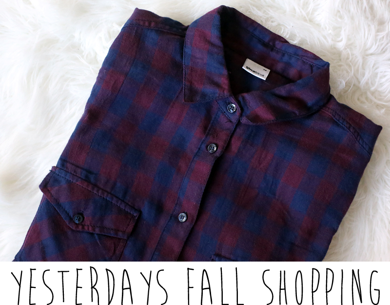 ginatricot plaid shirt burgundy