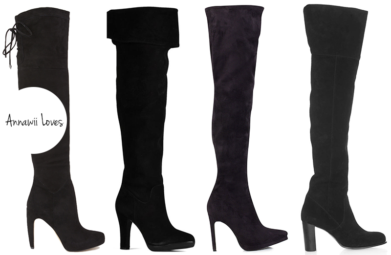 ANNAWII ♥ TREND REPORT OVER THE KNEE BOOTS