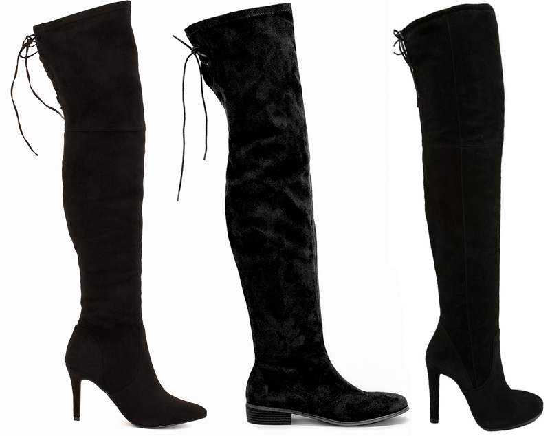 ANNAWII ♥ THREE TIMES OVER KNEE BOOTS