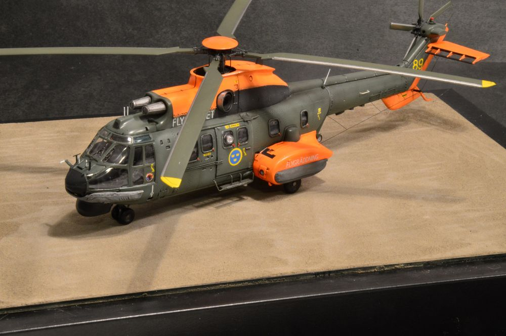 Super Puma 1/72 - Ready for Inspection