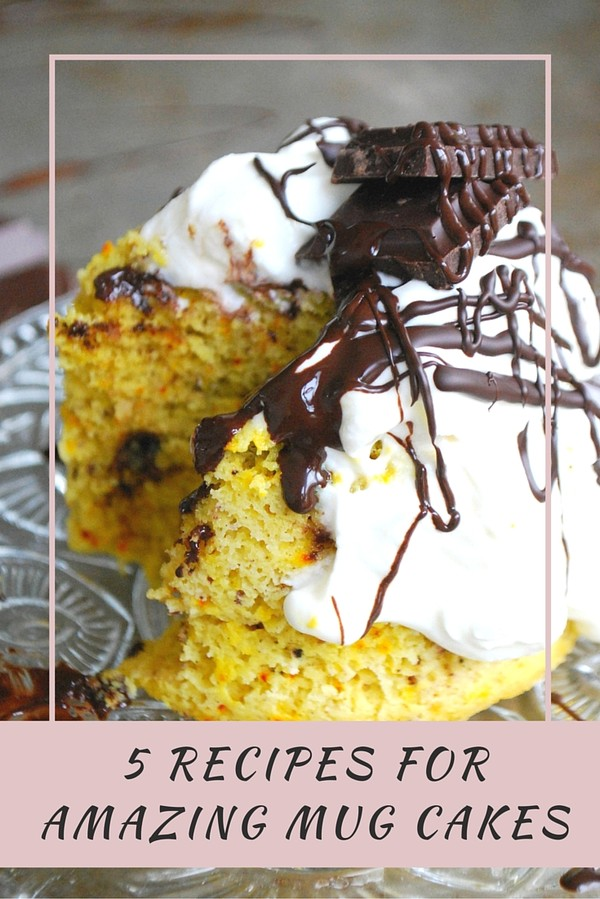 5 recipes for amazing mug cakes