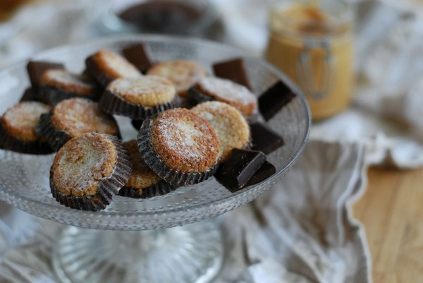 Peanut Butter Cups, low carb //Baka Sockerfritt