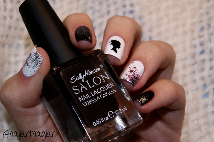 Sally Hansen Pat on the Black