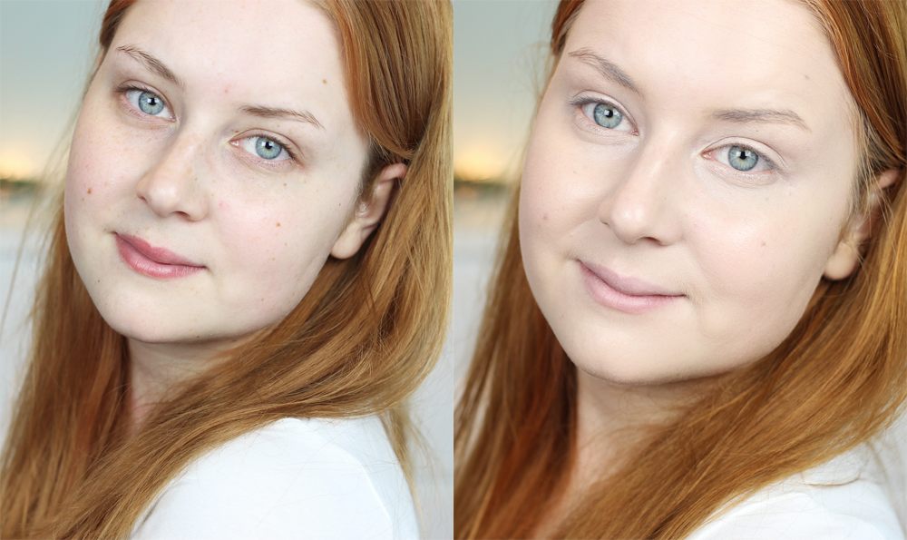 lumene matte foundation recension