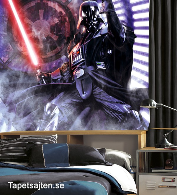 Fototapet Barn Star Wars Darth Vader Tapet Barntapeter Tapet Barnrum