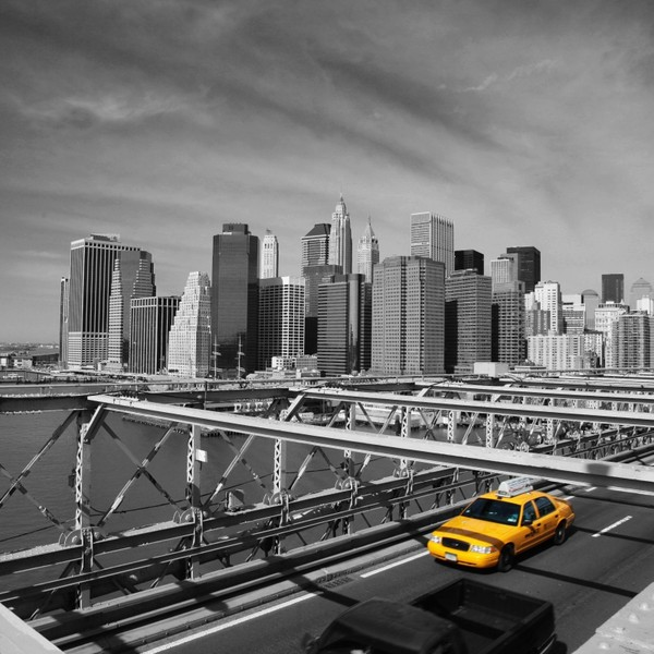 New York Tapet Taxi