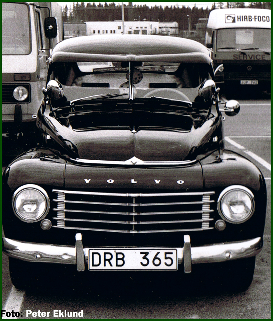 1957 Volvo PV 544 Related Infomation,specifications