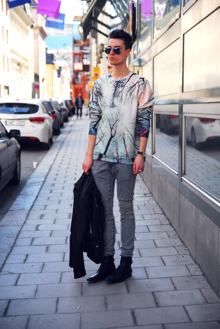 jakob, jakob andersson, detvarmindag, bloggare, manlig bloggare, stockholm, modebloggare, fashion, fashionista, mode, stil, outfit, veckorevyn, veckorevyn.com, aloha from deer, jofama, brandos, brandos.se, the local firm, jeans, items by johanna, itemsbyjohanna.se