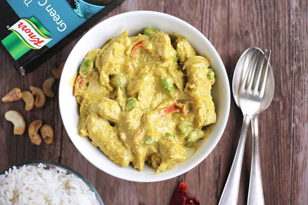 Thai Green Curry med Quorn