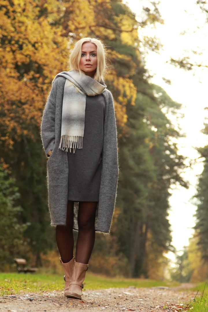 outfit inspiration autumn by malene birger knit
