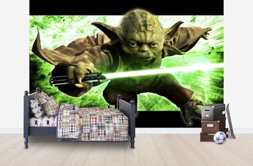 3d tapet barn star wars yoda