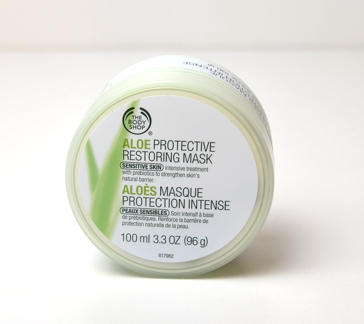aloe protective restoring mask the body shop