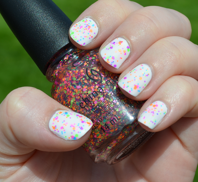 china glaze point me to the party isadora marble matte