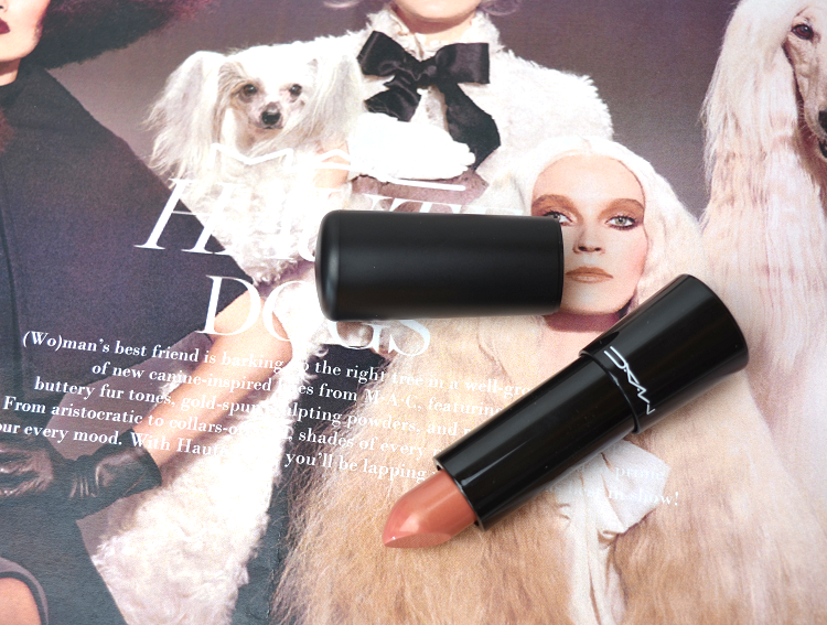 mac haute dogs collection rare breed mineralize lipstick