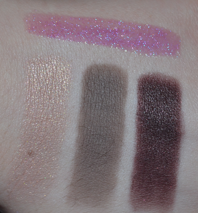 mac perfect topping copperplate sketch swatches