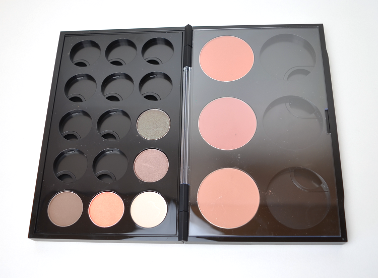 mac pro palette double insert blush eyeshadow