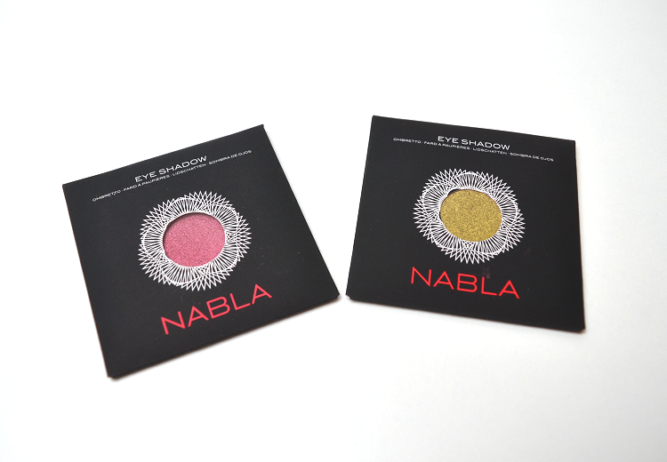 nabla cosmetics eyeshadow citron grenadine
