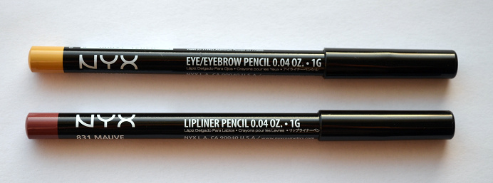 nyx eyeliner yellow lipliner mauve.png