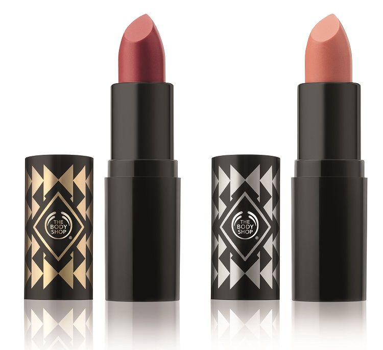 The body shop coral blush nude allure colour crush lipstick