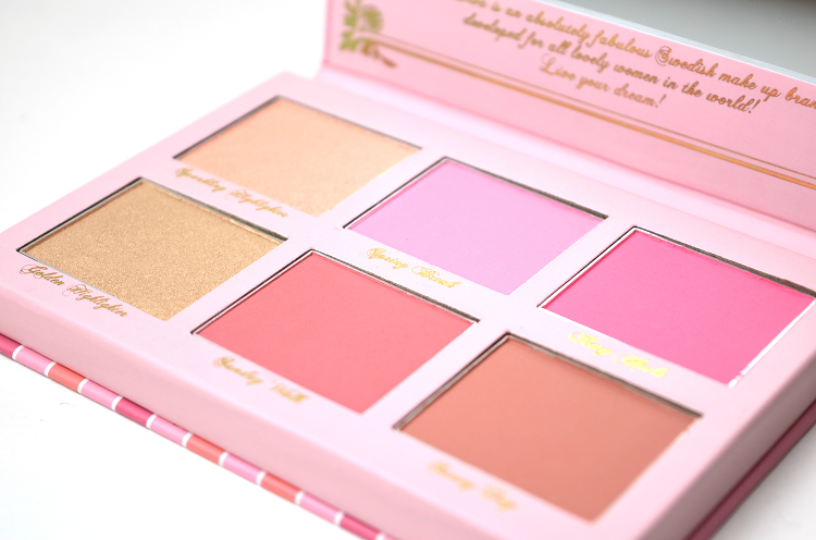 viva la diva dream cheek blush rouge highlighter palette4