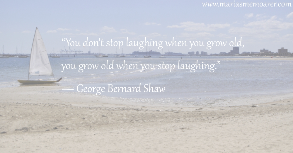 growing old / getting old - quote