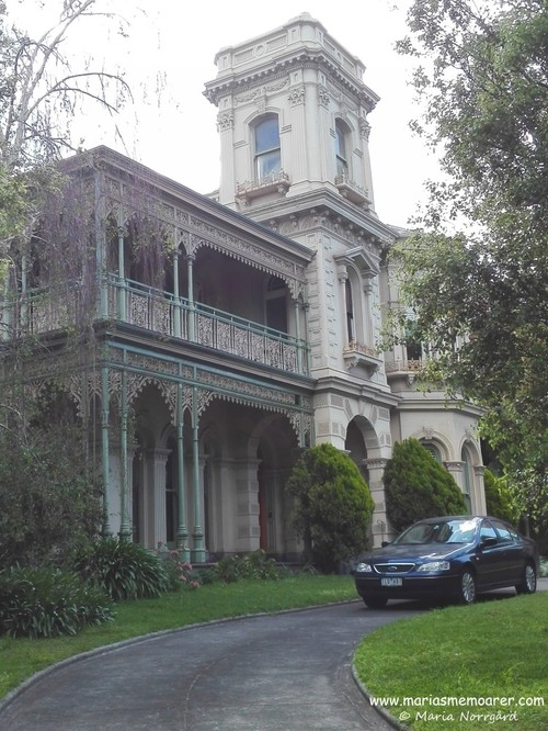 historical building on Acland street, St Kilda, Melbourne