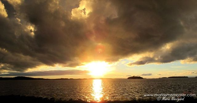 photo challenge clouds - dramatic cloud, Finland