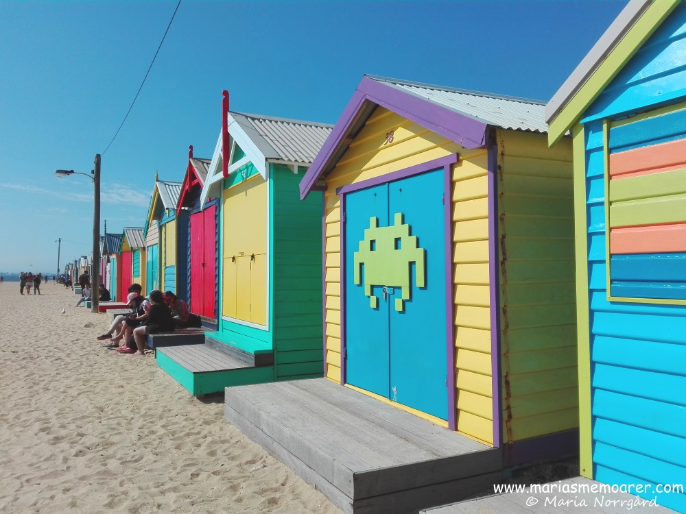 Beach houses, Brighton Beach, Melbourne