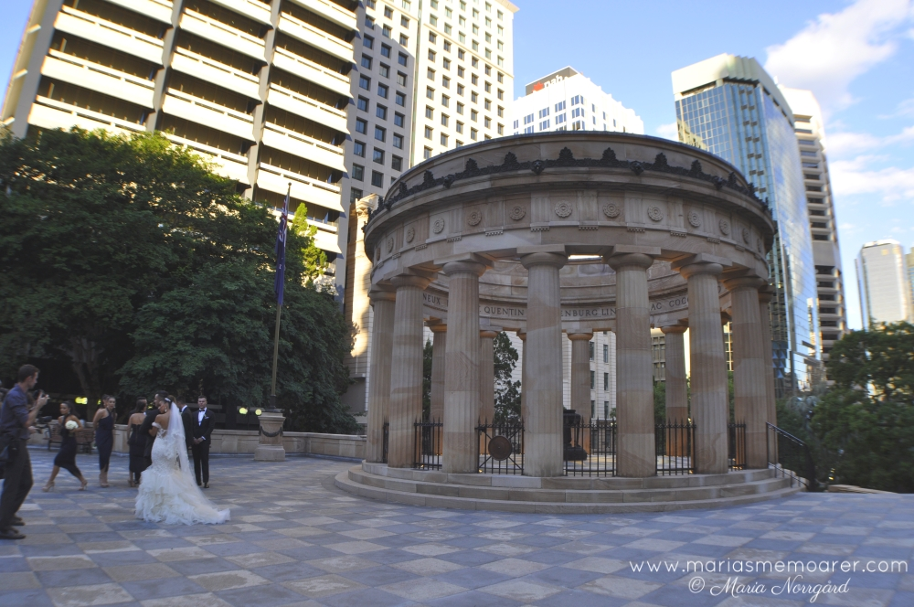 Anzac memorial in Brisbane, Australia