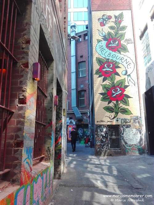 street art in Hosier Lane, CBD, Melbourne, Australia