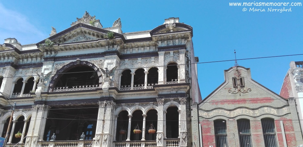 nice old architecture on Chapel Street, Melbourne