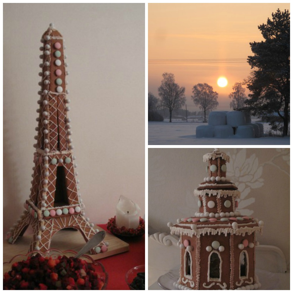alternativa pepparkakshus / gingerbread house inspiration