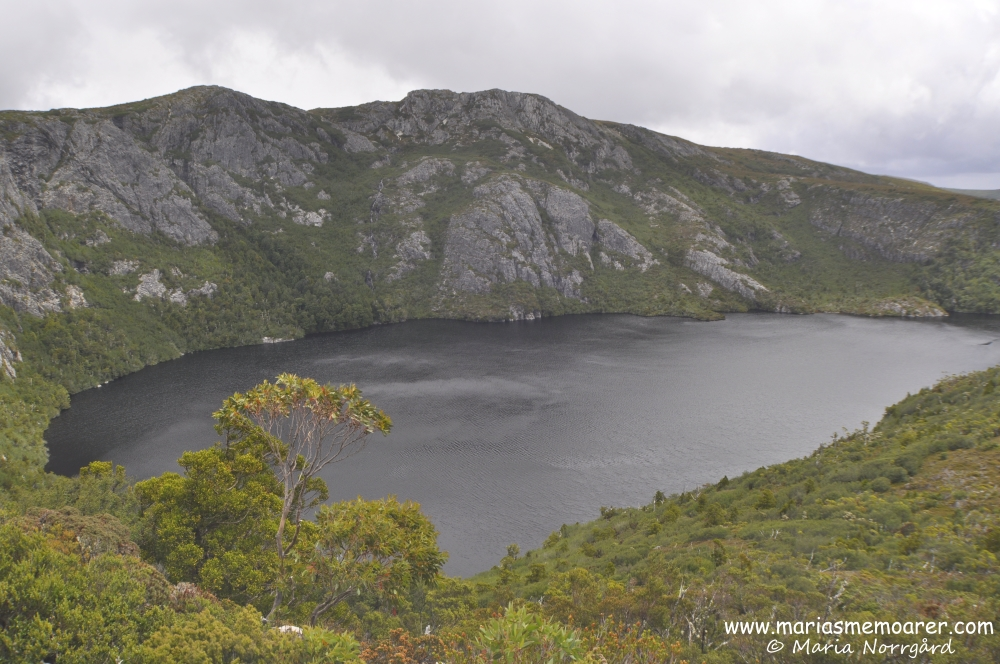amazing view over Crater Lake in Cradle Mountain, Tasmania / vy över Crater Lake, Tasmanien