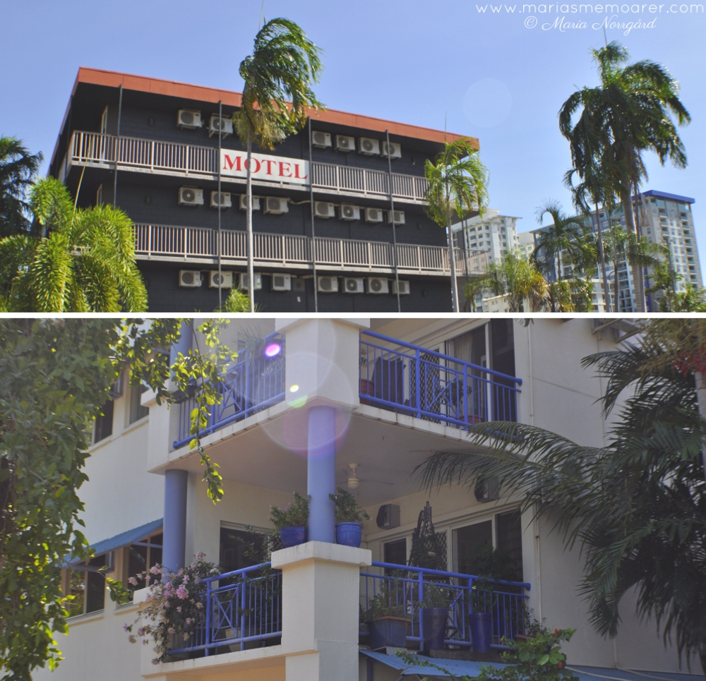 architecture of Darwin - modern and fresh vs dated and shabby