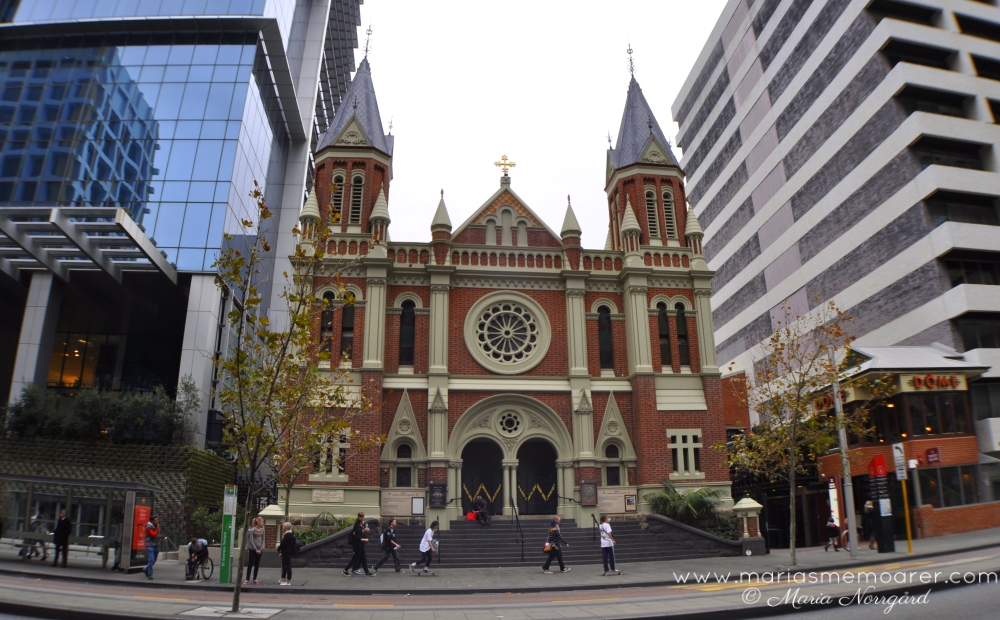 photo challenge religion - church in Australia - Trinity Church Perth
