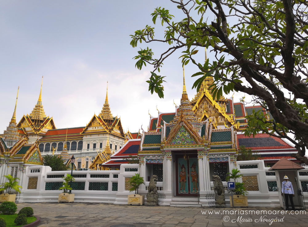 sighseeing Bangkok - don't miss the Grand Palace