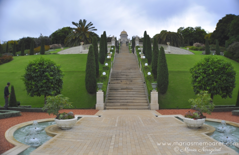Bahá'í gardens, top things to see in Haifa, Israel