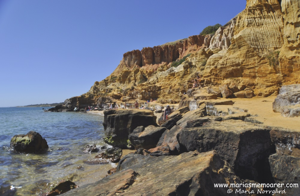 The Red Bluff at Half Moon Bay, Melbourne, Victoria