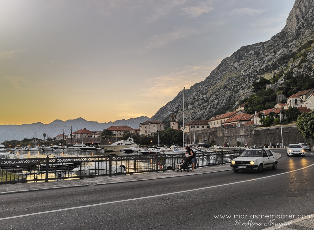 Kotor by night, Montenegro