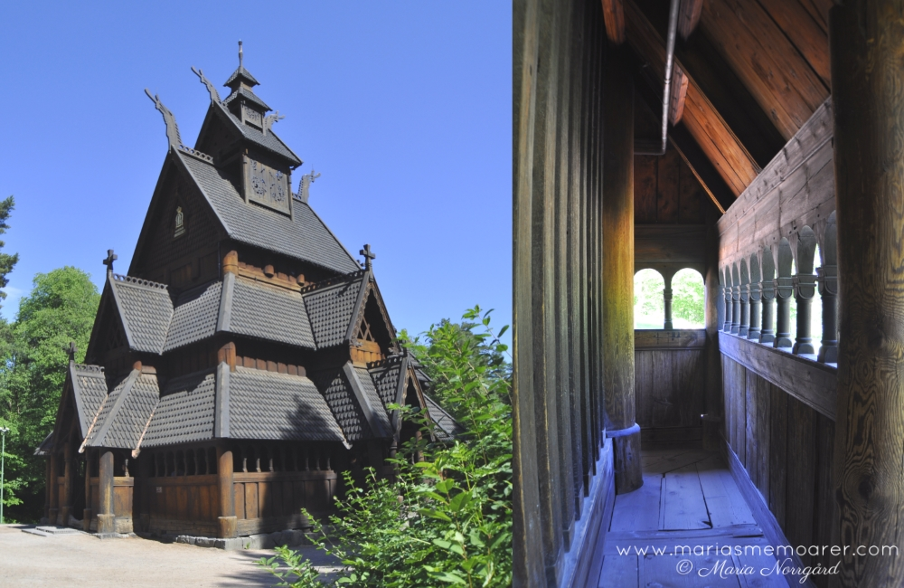 churches in the world - Gol stave church in Oslo, Norway