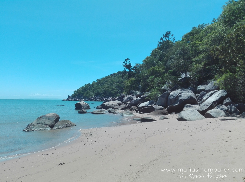 Magnetic Island boulders and sea - Down Under