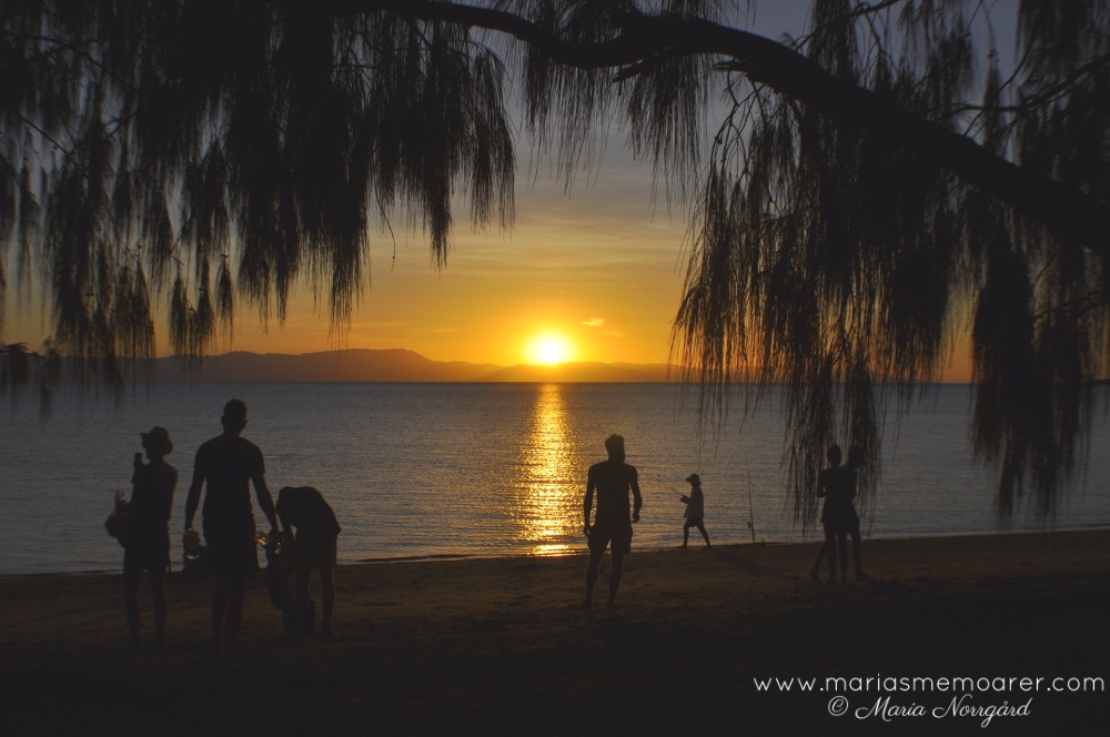 sunset viewpoint on Magnetic Island - West Point