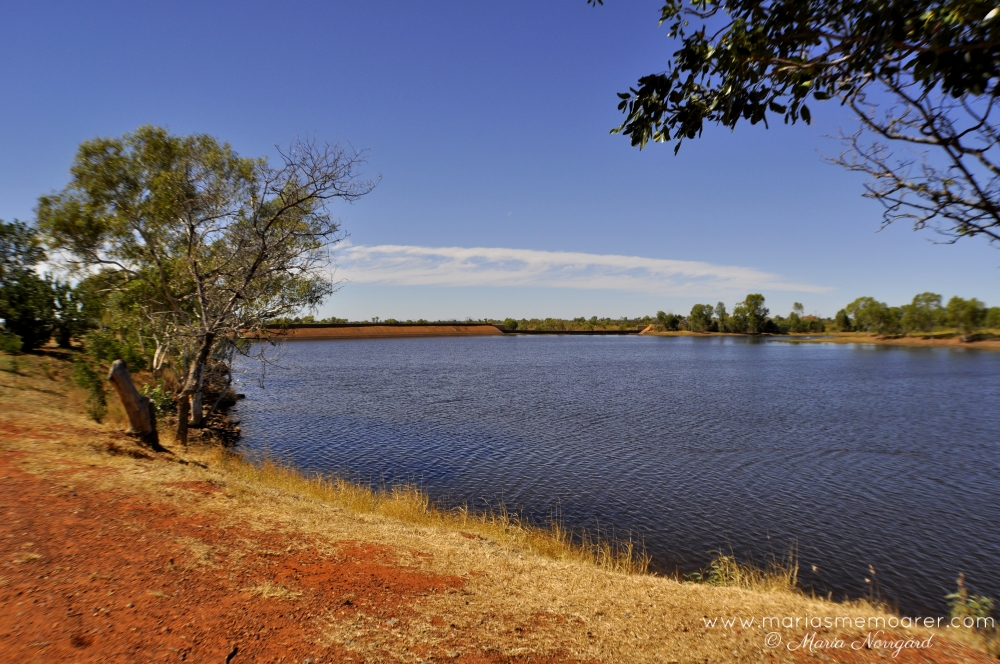 Mary Ann Dam in Northern Territory, Australia / Australien