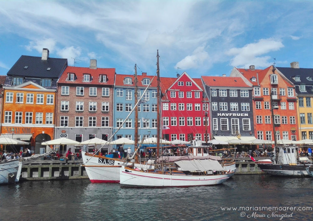 Nyhavn with its colourful houses in Copenhagen / Nyhavn med sina färgglada hus i Köpenhamn